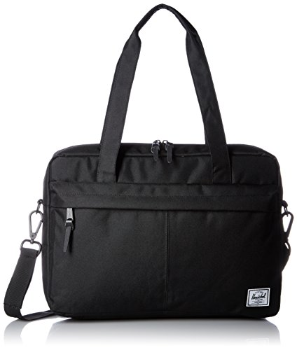 Herschel Supply Co. Gibson, Messenger, Gris, Taille Unique, Noir (Noir) - 10236-00001-OS