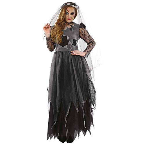 Fun Shack Costume Kostüm, Corpse Bride Long, - Corpse Bride Kostüm Kinder