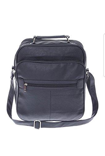 Bag Street , Sac pour homme à porter à l'épaule Noir Noir