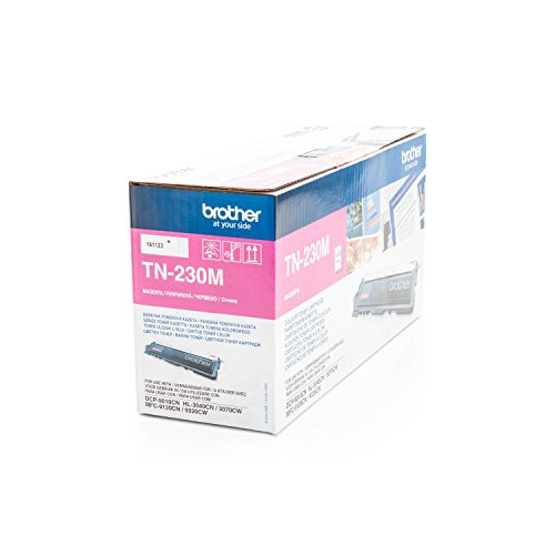 Preisvergleich Produktbild Brother TN-230M Tonerpatrone (1400 Seiten) magenta für HL-3040CN; HL-3070CW, DCP-9010CN, MFC-9120CN, MFC-9320CW