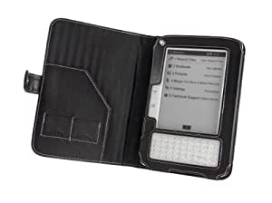 Cover-Up Elonex 511EB eBook Reader Leather Cover Case (Book Style) - Black
