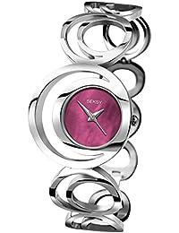 Seksy Damen-Armbanduhr Woman Analog Quarz 2193