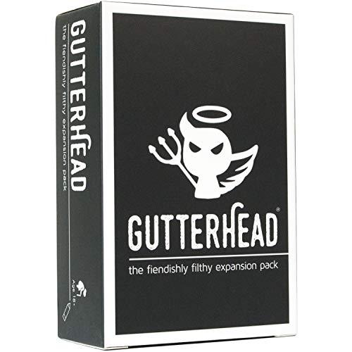 Gutter Games Dachrinnenkopf - The Fiendishly Filthy Expansion Pack [Trink- & Partyspiel für Erwachsene] (Karten Lustige Geburtstag Pack)