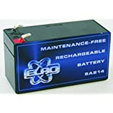 Eden - Batterie 12V 1,2Ah pour centrale d'alarme HA 51