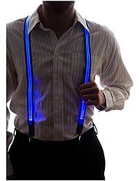 Neon Nightlife Hombres Light Up tirantes LED
