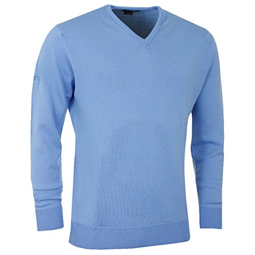 Callaway Golf 2016 Mens Merino High V Neck Sweater - Provence - L