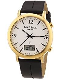 Mike Ellis New York Damen-Armbanduhr XS Analog - Digital Quarz Leder M2942AGU/1