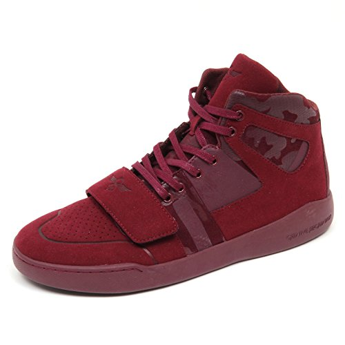D4906 (without box) sneaker uomo tissue bordeaux CREATIVE RECREATION shoe man Bordeaux