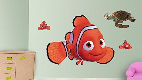 Mädchen Diy Ideen Kostüm (Nemo Wandaufkleber Dekor Decal Kunst für Kinder Schlafzimmer)