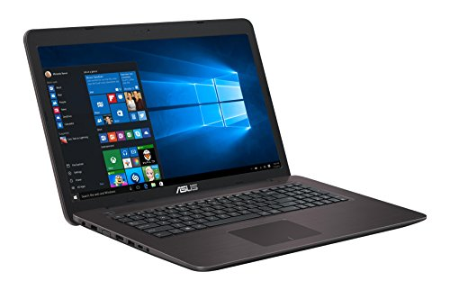 Asus F756UA-TY347T 43,94 cm (17,3 Zoll) Notebook (Intel Core i3, 8 GB RAM, 1 TB HDD, Intel HD Grafik 520, Win 10 Home) dunkelbraun