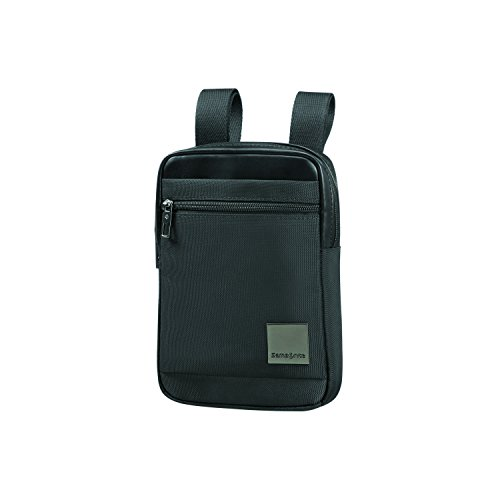 SAMSONITE Hip-Square - Tablet Cross-Over Bolso Bandolera, 23 cm, 2 Liters, Negro (Black)
