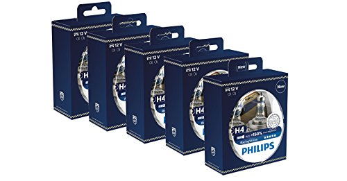 Philips racingvision H4Lampen Scheinwerfer (Twin) 12342rvs2Xtreme Vision Upgrade Menge 5PCS