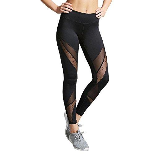 Mujer Yoga Pantalones Fitness Leggings de Cintura Alta Running Gym Pantalones Mallas Deportes de elásticas para Mujer por Venmo