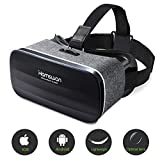 HAMSWAN 3D VR Brille für Handy, Video Movie Game Brille Virtuelle Realität Headset Kompatibel mit iOS, Android und anderen Handys innerhalb von 4.0-6.0 Zoll Ultraleichtes Gewicht MEHRWEG