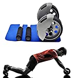 #7: Power Stretch Ab Wheel Roller Exercise Equipment Workout Roller Home Gym,Professional Ab Wheel Roller Supports, Abdominal Workout Machine, Ideal Men Women