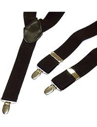 Men's Trouser Braces, Black