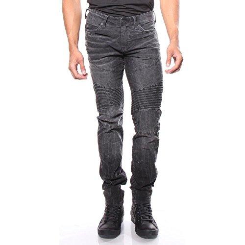 True Religion Rocco Moto SE Jeanshosen Relaxed Skinny 38/34 Herren (True Cord Religion)