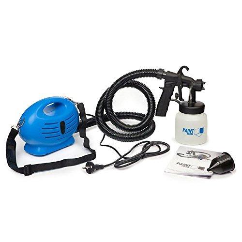 GosFrid Paint Zoom Electric Paint Zoom Ultimate Elite Professional Oil Painting Machine (Blue, 7-Pieces)