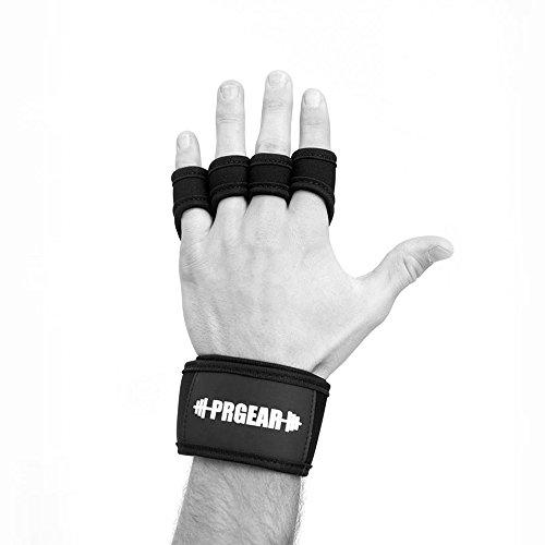 PRGear X2 Lite PREMIUM WOD Grips Handschuhe | Das ORIGINAL | Perfekter Handschutz für dein Workout. Für Gewichtheben, Klimmzüge, Bodybuilding, Fitness und alle Arten von funktionellem Training. (M)