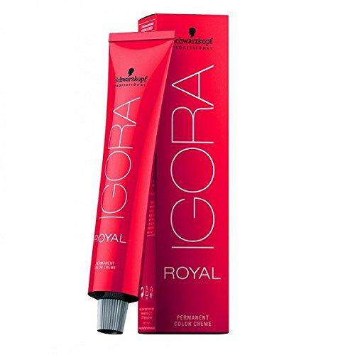 Schwarzkopf - Coloration Igora Royal - 60ml nuance 6-68 blond foncé marron rouge