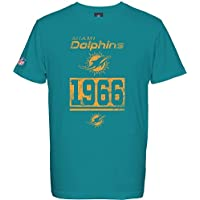 NFL Football T-Shirt MIAMI DOLPHINS established 1966 Roedy in LARGE (L)