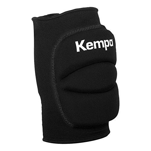 Kempa Knie Indoor Protektor Gepolstert Knieschoner, schwarz, XS
