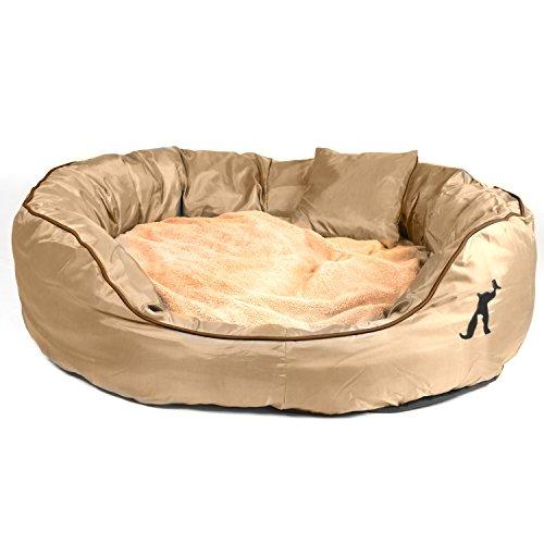 pet-paradise-tierbett-victor-mit-wendekissen-zusatzlichem-kissen-fur-hund-katze-beige-xxl-120x100x35