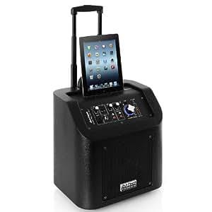 Dj-Tech iCube 65 HD BLT Sono portable iDock BT AUX batterie