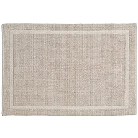 Grund Organic Cotton Bath Rug, Lao Series, 21-Inch by 34-Inch, Sand by Grund Organic Cotton
