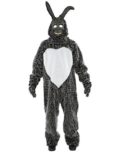 Erwachsene Donnie Darko Kaninchen Halloween Horror Film Karneval Kostüm (Kaninchen Donnie Darko Kostüm)