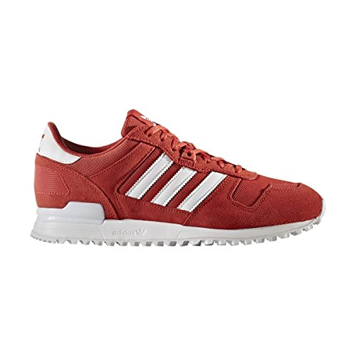 adidas Unisex-Erwachsene Zx 700 Sneakers Rot (Tactile Red/footwear White/tactile Red)
