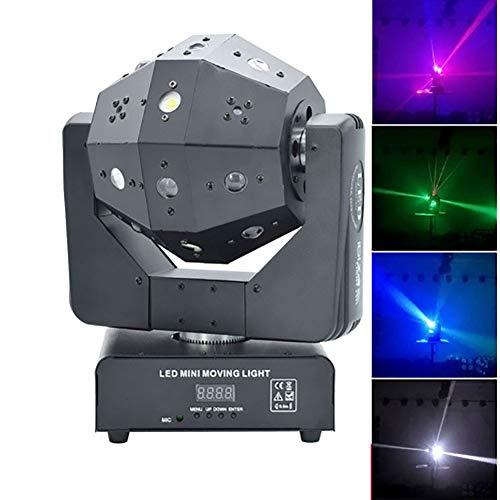 Disco Light Stage LED rüttelt seinen Kopf Strahl Bar KTV Effekt Party Bar Lights