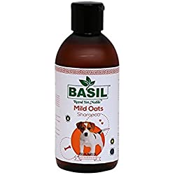 Basil Mild-Oats Shampoo For Dogs By jainsons (250)