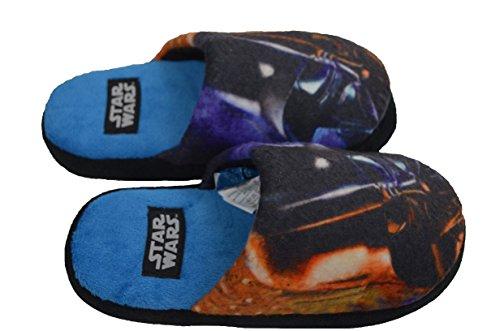 Star wars ,  pantofole bambino, nero (dark vador), 27/28 eu