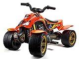 Falk Quad à pédales Dakar Moto & Quads, 606D, Orange