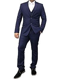 cffccadb56f8 Amazon.co.uk: Cavani - Waistcoats / Suits & Blazers: Clothing