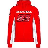 Marc Marquez 93 Dual Honda Moto GP Team Capucha Logo Rojo Oficial 2018