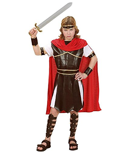 Costume carnevale bambino gladiatore romano ercole ps 26171-5/7 anni