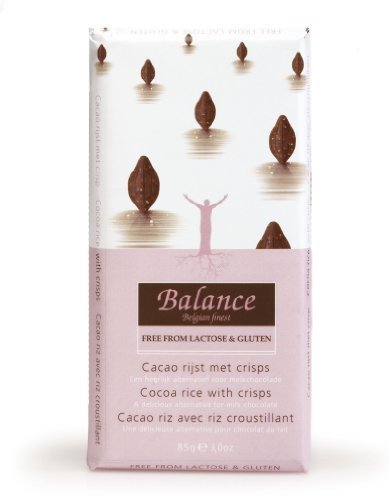 Balance Lactose and Gluten Free Cocoa Rice with Crisps Chocolate Bar 85 g