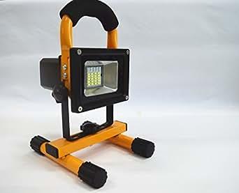 Projecteur lumi re 10w lumi re d 39 inondation led acve interrupteur tactile 6500lm rechargeable d for Projecteur lumiere maison