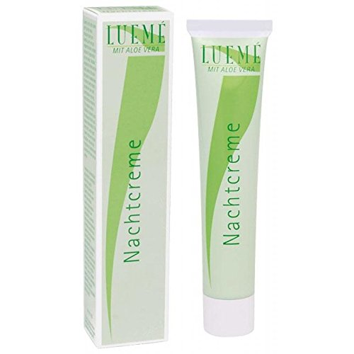 Lueme Nachtcreme mit Aloe Vera Feuchtigkeit spendende Nachtpflege, 50 ml