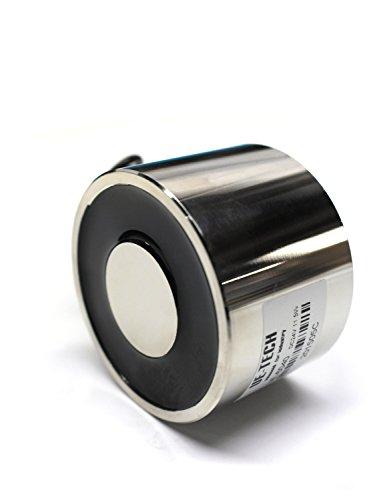 ue-tech 24V DC Maximalbelastung/90.0kg Heben Magnet Elektromagneten Magnetventil Lift halten ue-6040–24V