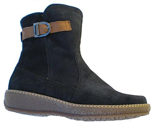 Waldläufer 533913-735-021 Hoja femme boots Bleu