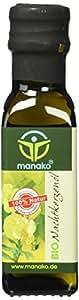 manako BIO Nachtkerzenöl, kaltgepresst, 100% rein, 100 ml Glasflasche (1 x 0,1 l)