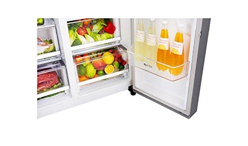 Side By Side Kühlschrank Lg : Preiswert lg electronics gsj pzxv side by side kühlschrank a