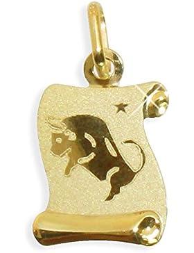 Sternzeichen Anhänger Stier 14 Karat Gold 585 (213302) GRATIS-SOFORT-GRAVUR