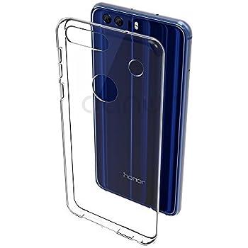 M.G.R.J Huawei Honor 8 - Ultra Thin 0.3mm Clear Transparent Flexible Soft TPU Slim Back Case Cover