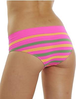 6er Pack Damen Panty Slips Seamless Microfaser MODELLWAHL Pants Hipster Hotpants