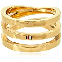 TOMMY HILFIGER WOMEN'S IONIC GOLD PLATED STEEL RINGS -2701100E