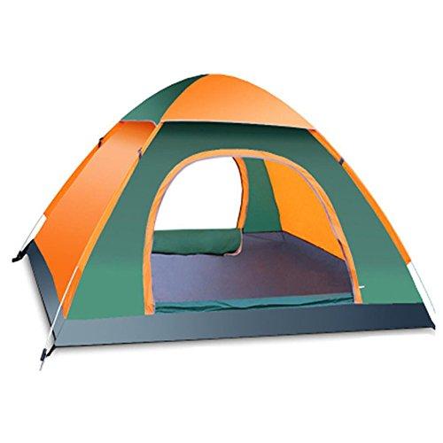 Kokr tenda da campeggio anti-uv automaticamente istantaneo pop-up impermeabile portatile ultraleggera e ripiegabile tenda familiare con ampio spazio per 3-4 persone